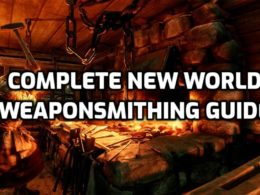 complete new world weaponsmithing guide